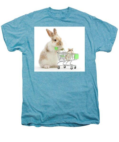 Bunny Shopping Men's Premium T-Shirt