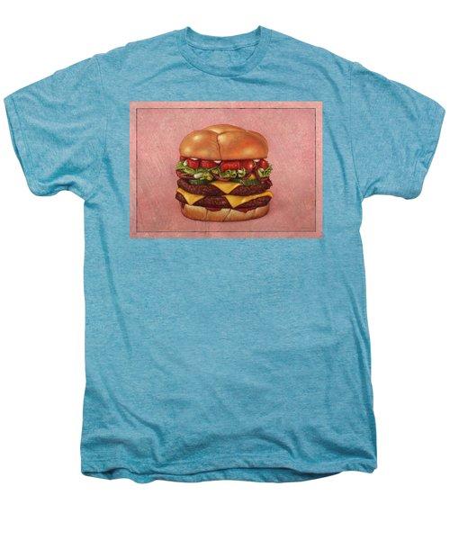 Burger Men's Premium T-Shirt