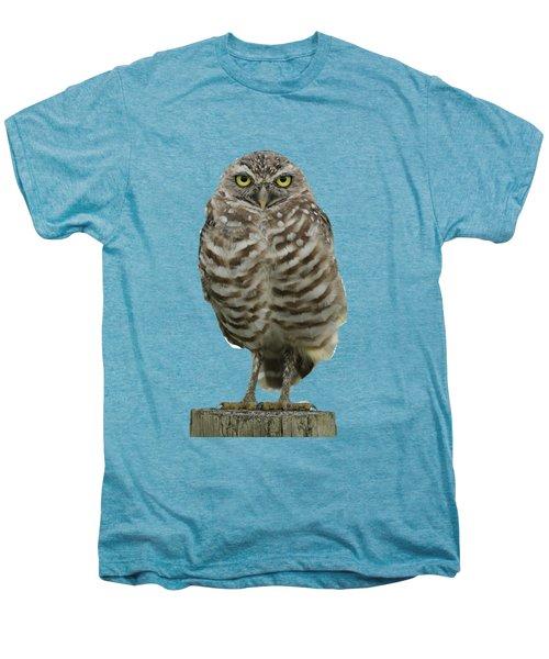 Burrowing Owl Lookout Men's Premium T-Shirt