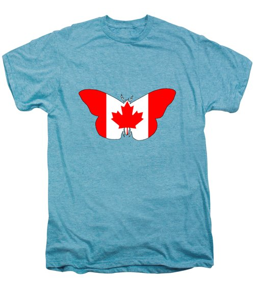 Butterfly Canada  Men's Premium T-Shirt by Mordax Furittus