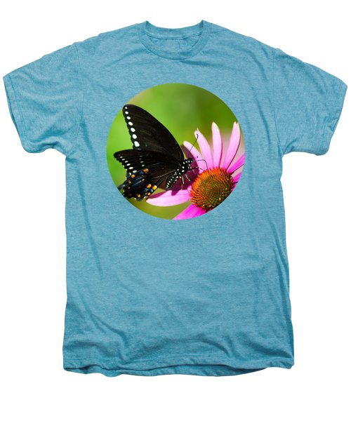 Butterfly In The Sun Men's Premium T-Shirt by Christina Rollo