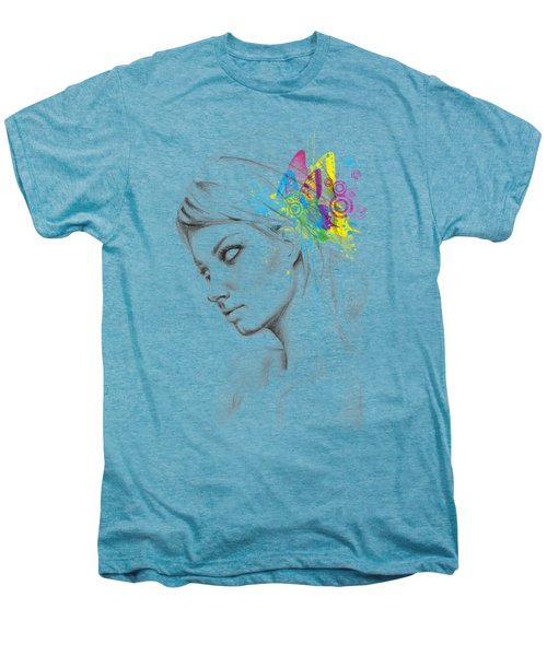 Butterfly Queen Men's Premium T-Shirt by Olga Shvartsur