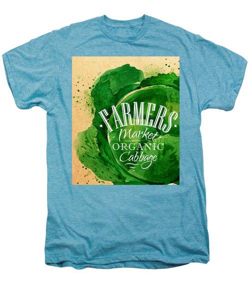 Cabbage Men's Premium T-Shirt by Aloke Creative Store