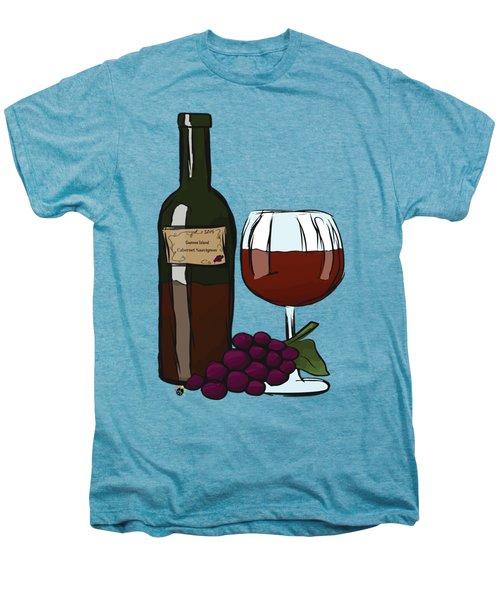 Cabernet Sauvignon Men's Premium T-Shirt