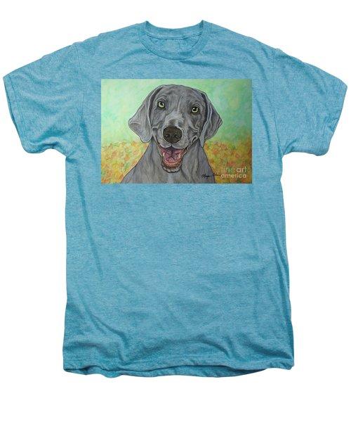 Camden The Weimaraner Men's Premium T-Shirt