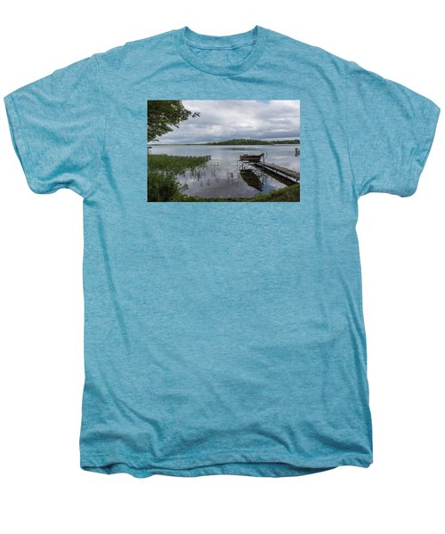Camelot Island From Wilderness Point Men's Premium T-Shirt by Gary Eason