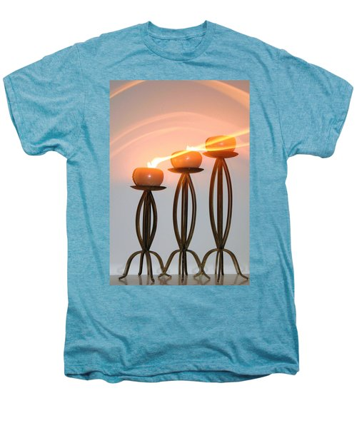 Candles In The Wind Men's Premium T-Shirt by Kristin Elmquist