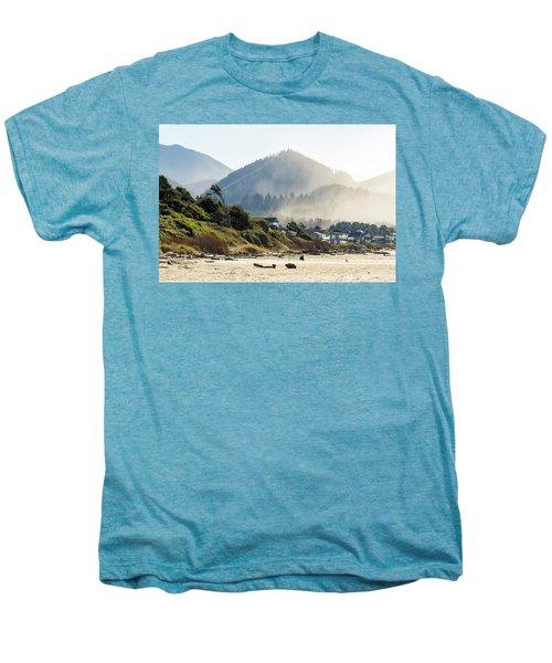 Cannon Beach Oceanfront Vacation Homes Men's Premium T-Shirt