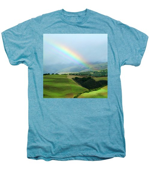 Carmel Valley Rainbow Men's Premium T-Shirt