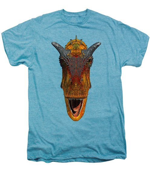 Carnotaurus Head Men's Premium T-Shirt