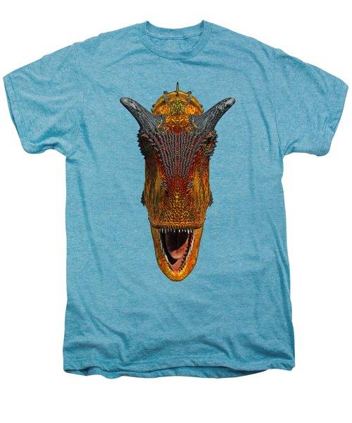 Carnotaurus Head Men's Premium T-Shirt