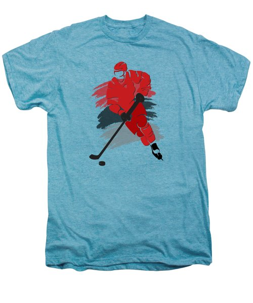 Carolina Hurricanes Player Shirt Men's Premium T-Shirt by Joe Hamilton