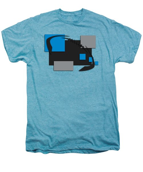 Carolina Panthers Abstract Shirt Men's Premium T-Shirt by Joe Hamilton