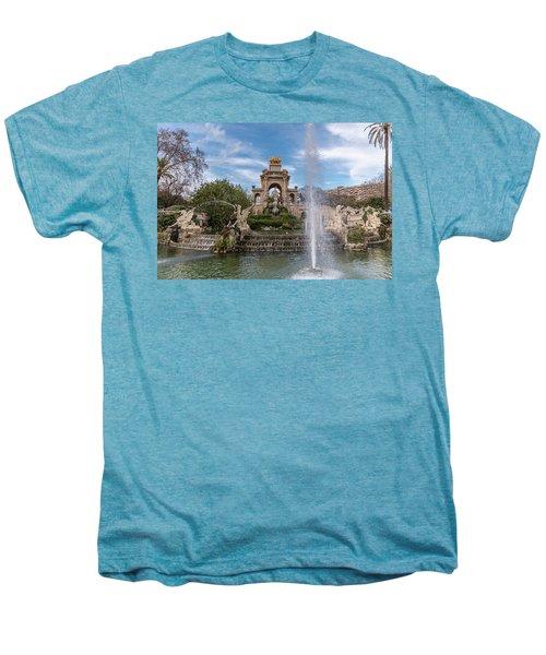 Cascada Monumental Men's Premium T-Shirt by Randy Scherkenbach