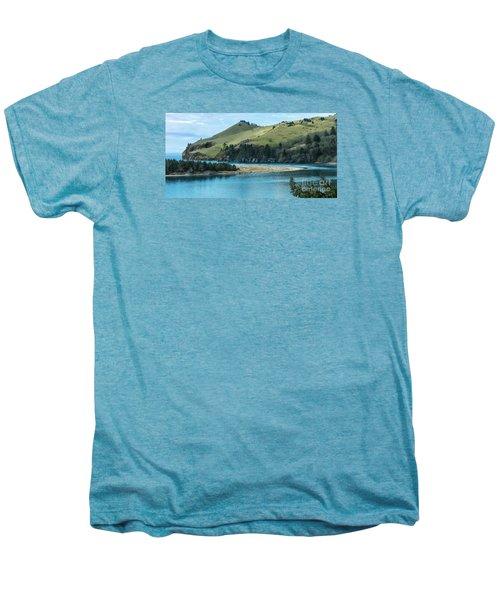 Cascade Head Panorama Men's Premium T-Shirt