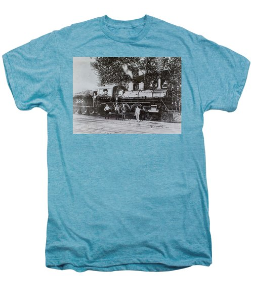 Casey Jones Engine  Men's Premium T-Shirt