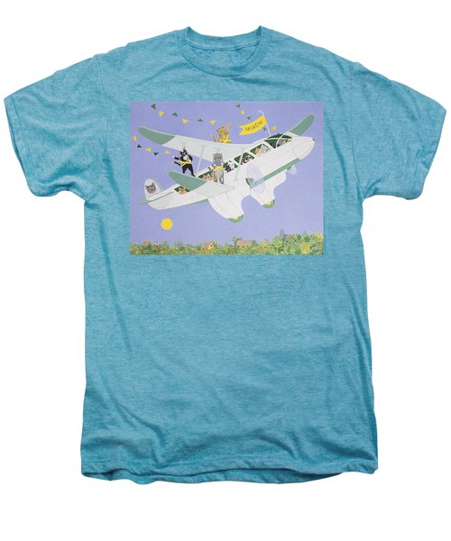 Cat Air Show Men's Premium T-Shirt