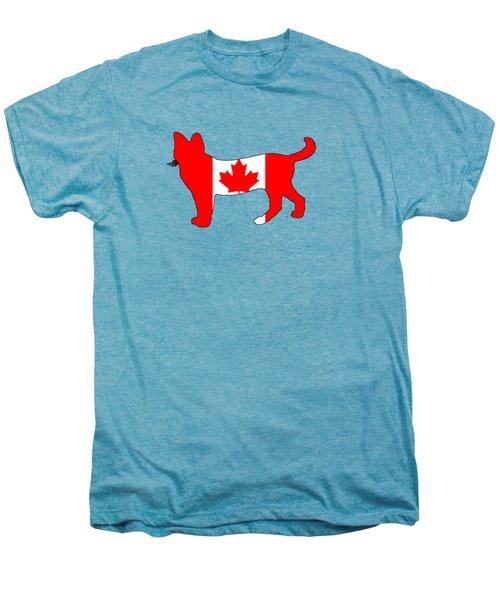 Cat Canada Men's Premium T-Shirt by Mordax Furittus
