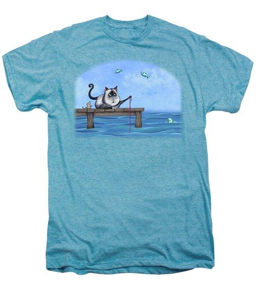 Cat Fish Men's Premium T-Shirt