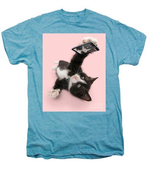 Cat Selfie Men's Premium T-Shirt
