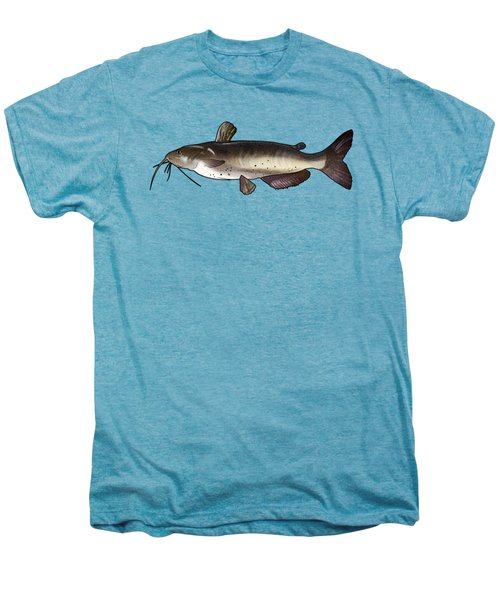 Catfish Drawing Men's Premium T-Shirt