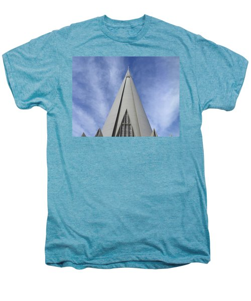 Cathedral Minor Basilica Our Lady Of Glory Men's Premium T-Shirt by Bruna Lima