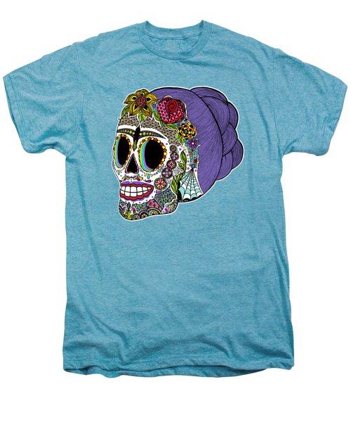 Catrina Sugar Skull Men's Premium T-Shirt