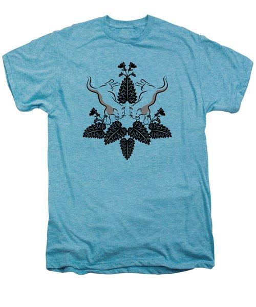 Cats And Catnip Graphic Men's Premium T-Shirt