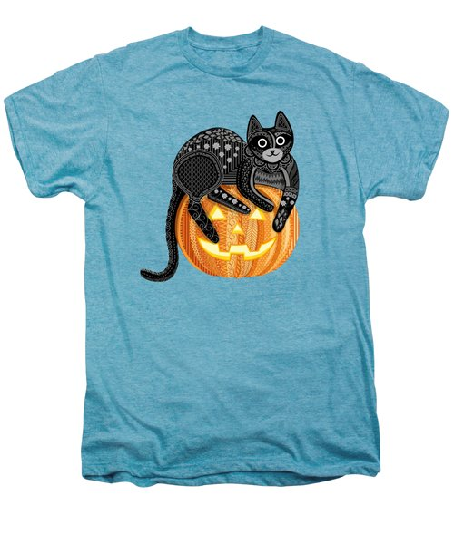 Cattober Men's Premium T-Shirt by Veronica Kusjen