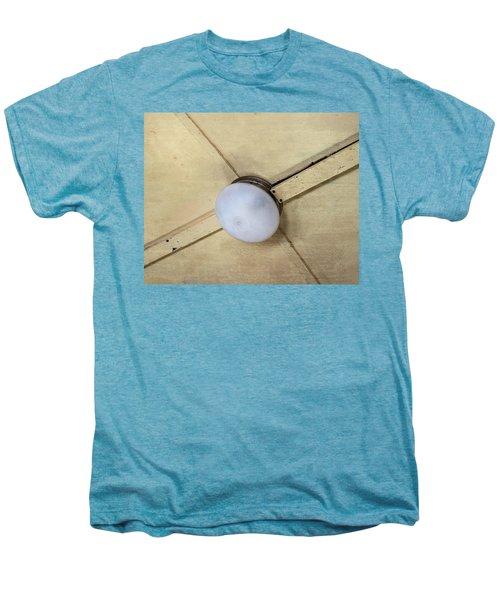 Ceiling Light On Antique Train Men's Premium T-Shirt