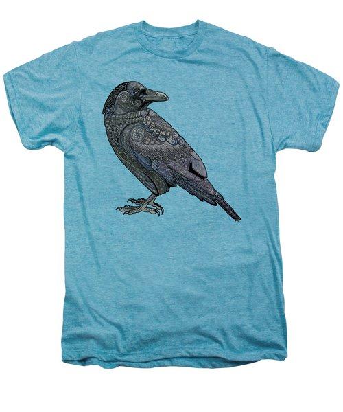 Celtic Raven Men's Premium T-Shirt by ZH Field
