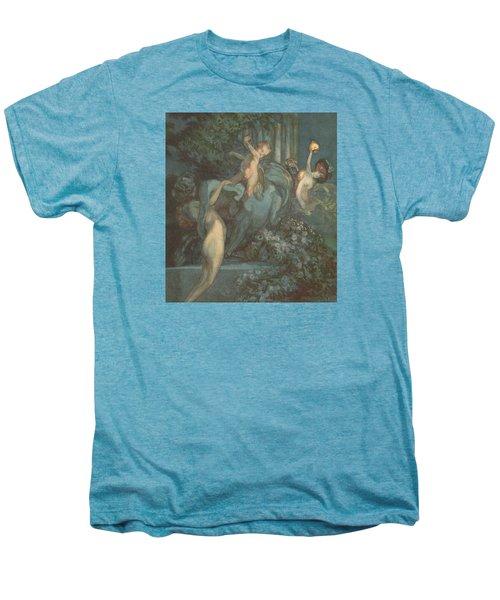 Centaur Nymphs And Cupid Men's Premium T-Shirt
