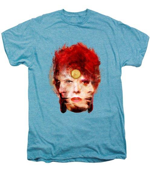 Ch Ch Changes David Bowie Portrait Men's Premium T-Shirt