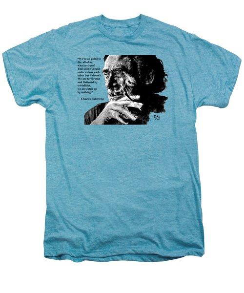 Charles Bukowski Men's Premium T-Shirt