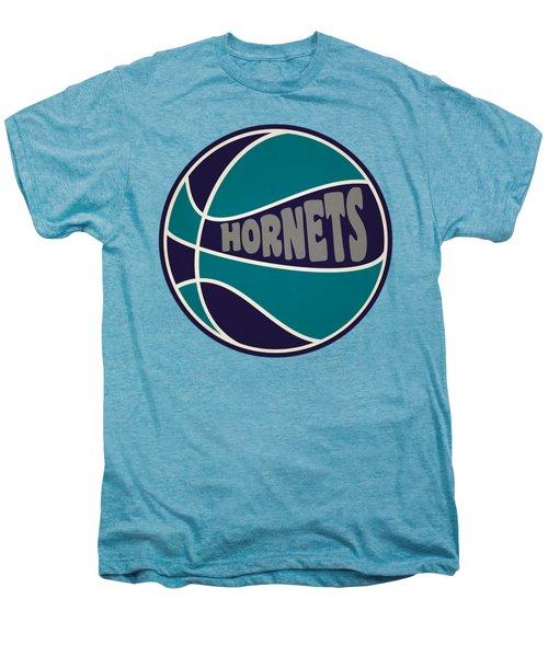 Charlotte Hornets Retro Shirt Men's Premium T-Shirt by Joe Hamilton