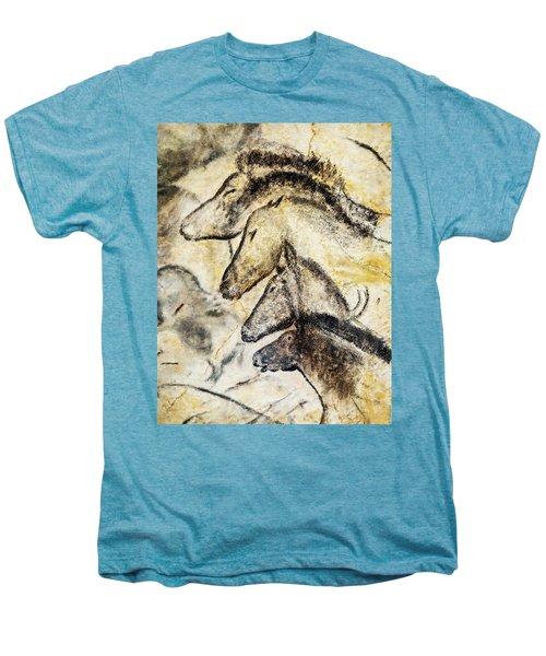 Chauvet Horses Men's Premium T-Shirt