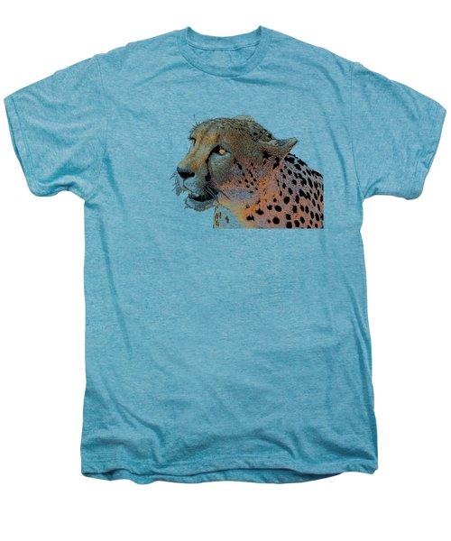 Cheetah Golden Eye Men's Premium T-Shirt