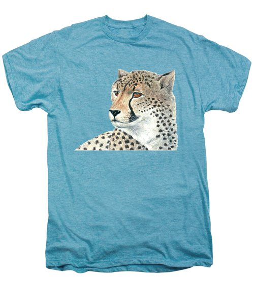 Cheetah Men's Premium T-Shirt by Katerina Kirilova