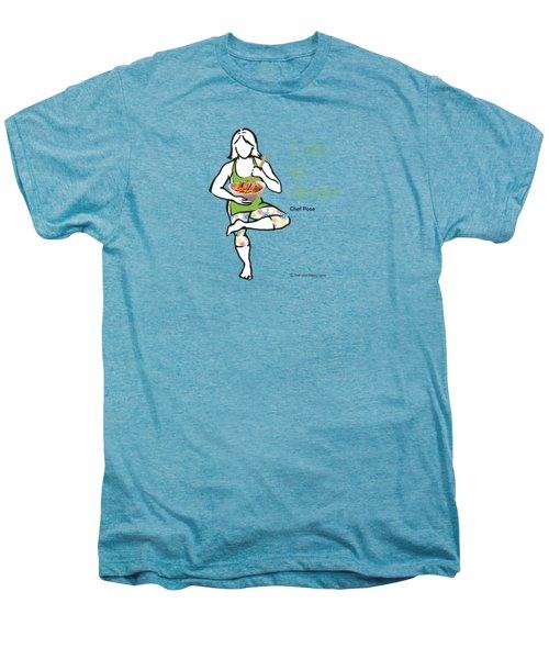 Chef Pose Men's Premium T-Shirt