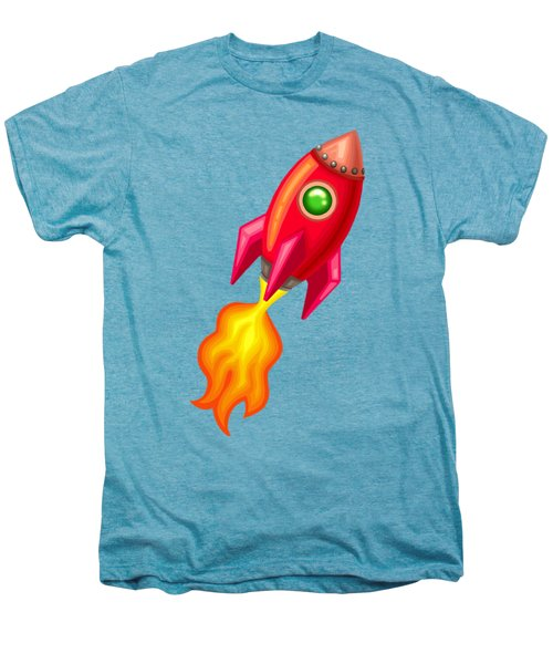 Cherry Bomb Rocket Men's Premium T-Shirt by Brian Kemper