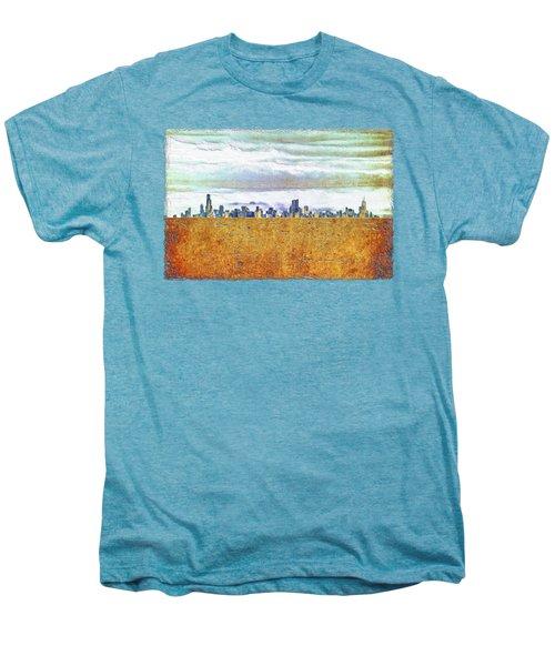 Chicago Skyline Men's Premium T-Shirt