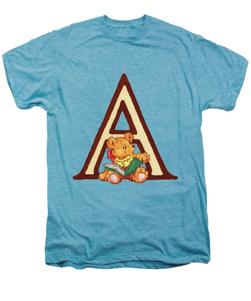 Children's Letter A Men's Premium T-Shirt