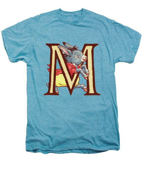 Children's Letter M Men's Premium T-Shirt