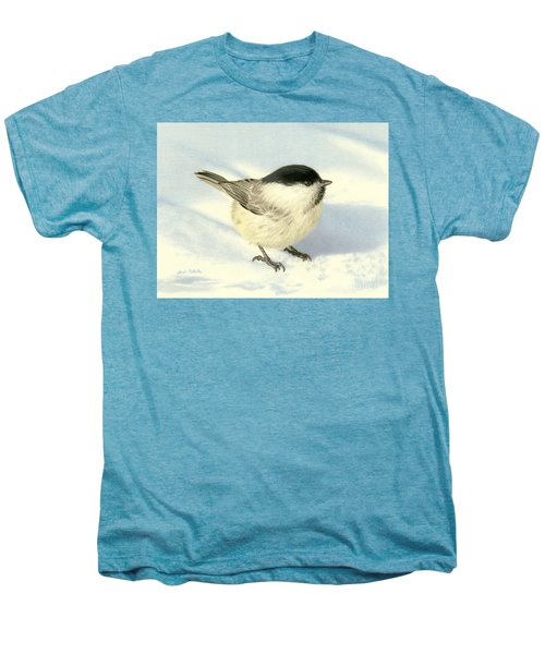 Chilly Chickadee Men's Premium T-Shirt