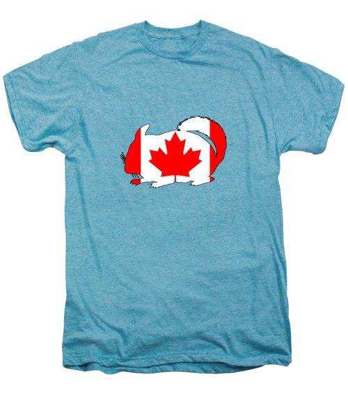 Chinchilla Canada Men's Premium T-Shirt by Mordax Furittus
