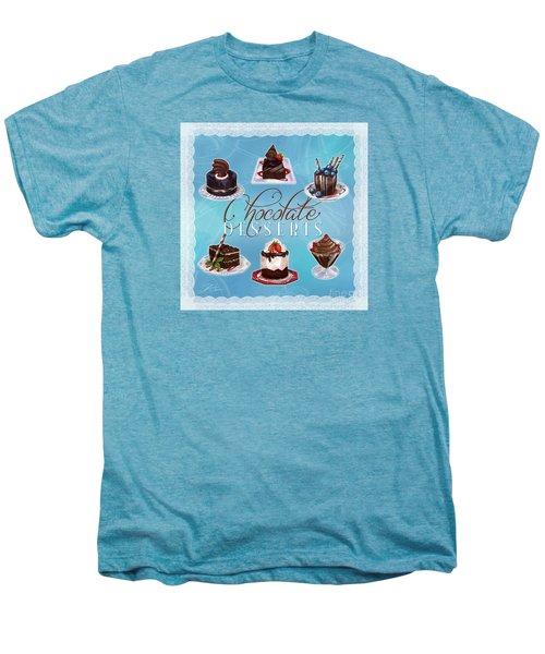Chocolate Desserts Men's Premium T-Shirt