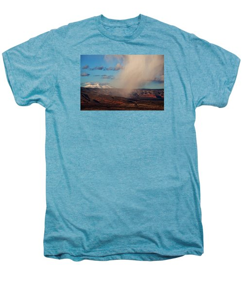 Christmas Day Snow Mix San Francisco Peaks Men's Premium T-Shirt