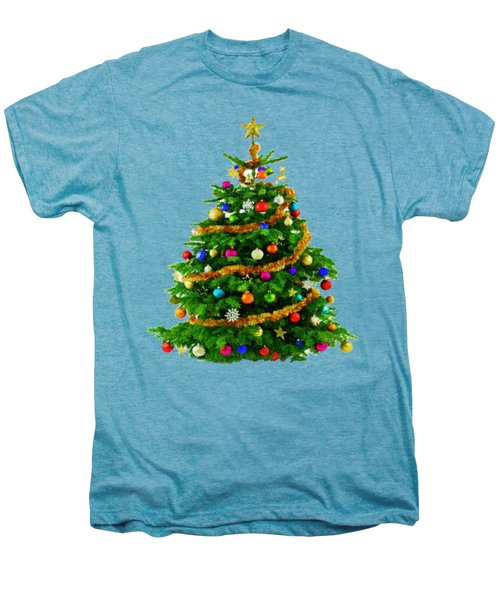 Christmas Tree 1417 Men's Premium T-Shirt