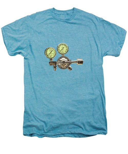 Chrome Regulator Gauges Men's Premium T-Shirt