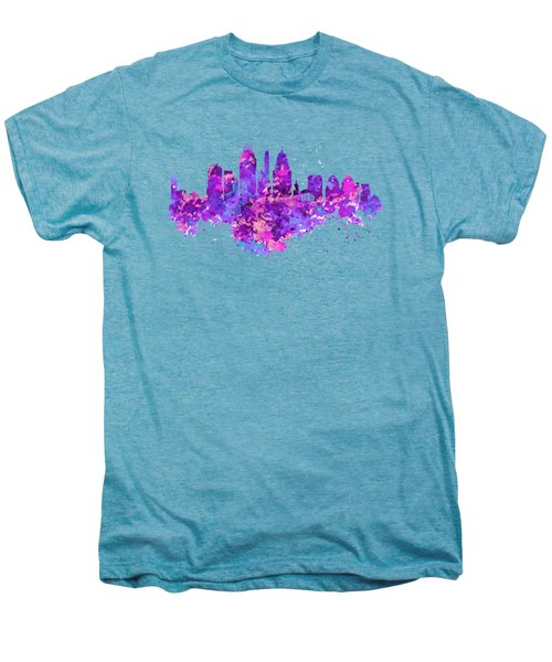 Cincinnati Skyline Men's Premium T-Shirt by Marian Voicu